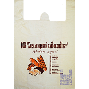 Пакет Майка із отвором 40/2х9/60, артикул ПМ 102