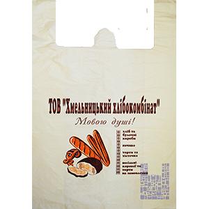 Пакет Майка с отверстием 40/2х9/60, артикул ПМ 102